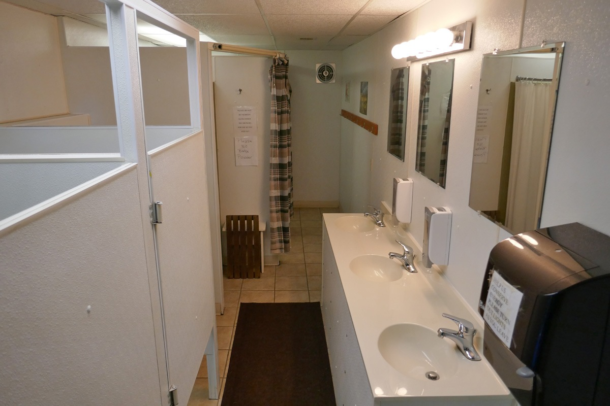 interior photo of bathroom