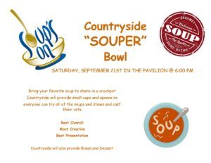countryside souper bowl flyer